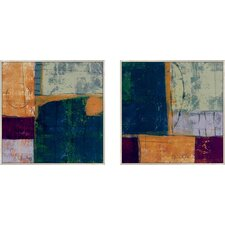 Northern Desire 2 Piece Painting Print Set