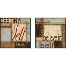 <strong>Pro Tour Memorabilia</strong> Destiny Happens Framed Art (Set of 2)