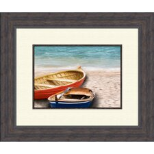 Boats A Framed Art