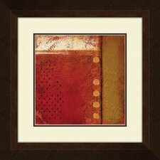 Spiced Field B Framed Painting Print