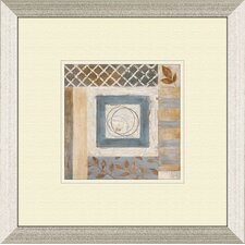 Abstract Plan A Framed Painting Print