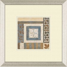 Abstract Plan B Framed Painting Print