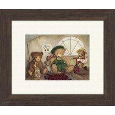 Bear Stories A Framed Art
