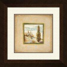 Summer Light B Framed Painting Print