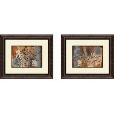 2 Piece Botanical Abstract Intention Wall Art Set