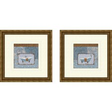 Bath Le Bain Framed Art (Set of 2)