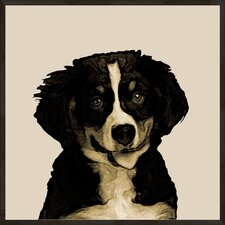 <strong>Pro Tour Memorabilia</strong> Doggy Portrait A Framed Wall Art