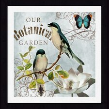 <strong>Pro Tour Memorabilia</strong> Botanical Garden Framed Wall Art (Set of 2)