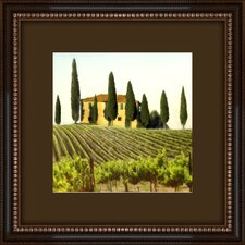 <strong>Pro Tour Memorabilia</strong> Tuscan View Framed Wall Art (Set of 2)