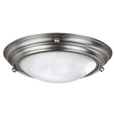 Duomo Three Light Flush Mount in Oil Rubbed Bronze