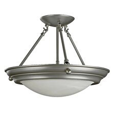 <strong>AFX</strong> Duomo 2 Light Semi Flush Mount
