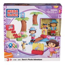 Nickelodeon Dora the Explorer Mega Bloks Pirate Adventure