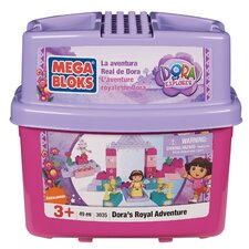 Nickelodeon Dora the Explorer Mega Bloks Royal Adventure