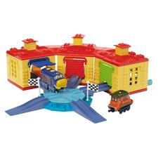 Chuggington Construction - Roundhouse Racing Brewster and Calley