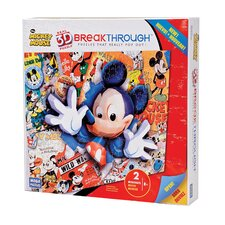 200 Piece 3D Breakthrough Mickey Mouse Puzzle