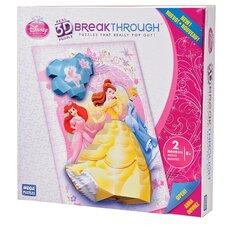 200 Piece 3D Breakthrough Disney Princess Puzzle