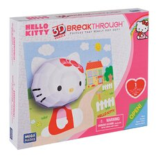 100 Piece 3D Breakthrough Hello Kitty Puzzle