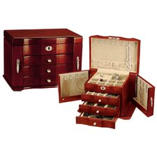 Cherry Burlwood Jewelry Box