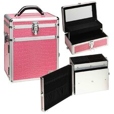 2-1 Cosmetic and Jewelry Storage Travel Case