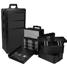 Professional 3-1 Rolling Makeup Case