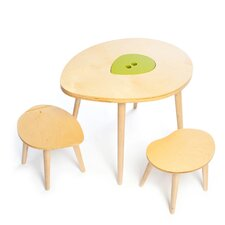 <strong>Mod Mom Furniture</strong> Owyn Kids 3 Piece Table and Chair Set