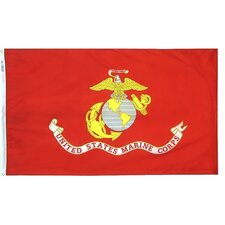 <strong>Annin & Company</strong> Armed Forces United States Marine Corps Traditional Flag