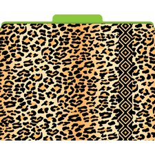 <strong>Barker Creek & Lasting Lessons</strong> Functional File Folders Leopard