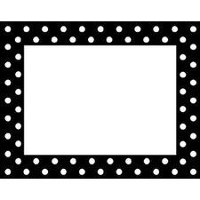 Remember Me Name Tags Black Dots