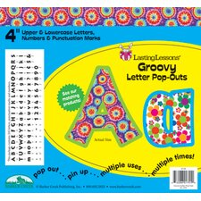 Groovy Letter Pop-outs