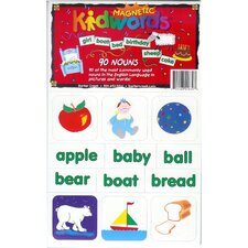 Pcs Learning Magnets 90 Nouns