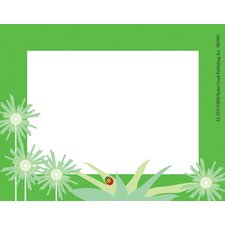 Go Green Name Tag
