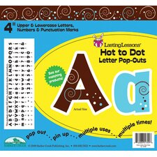 Hot To Dot Letter Pop-outs