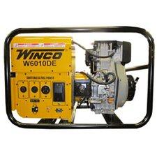 Industrial 6,000 Watt Diesel Generator with Electric Strat