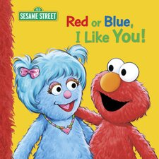Red Or Blue I Like You Big book