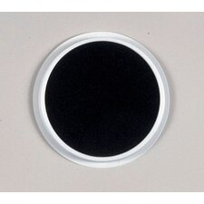 Jumbo Circular Washable Pads Black