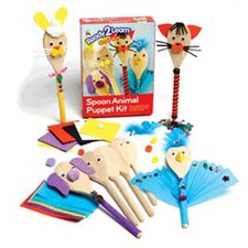 <strong>Center Enterprises Inc</strong> Ready2learn Craft Kit Spoon Animals