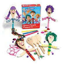 <strong>Center Enterprises Inc</strong> Ready2learn Craft Kit Spoon People