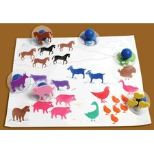 Ready2learn Giant Farm Animals (Set of 10)