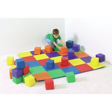 Joey's Matching Mat and Block Set