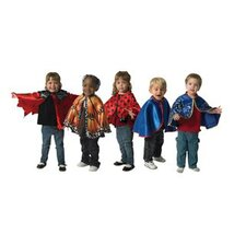 <strong>The Children's Factory</strong> 5 Piece Capes Costumes Set