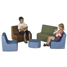 5 Piece Kids Tot Family Room Set