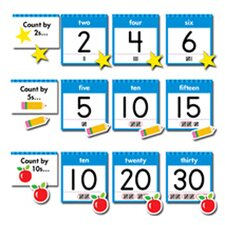 Numbers 0-30 Bb Set