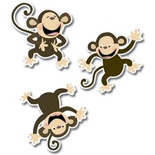 Monkeys Jumbo Cut Outs