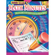 Middle-gr Math Minutes Gr 6-8