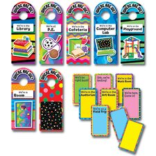 <strong>Creative Teaching Press</strong> Where Are We Door Hangers Mini Bb