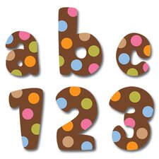 <strong>Creative Teaching Press</strong> Dots On Chocolate Lowercase Letter