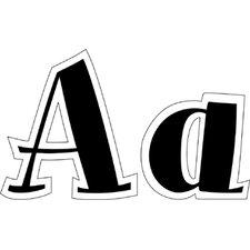 Letters Spumoni Uppercase Black 4