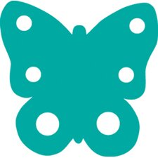 Calendar Cut-outs Butterfly 31/pk