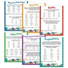 Parts Of Speech Chart Pack