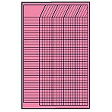 Chart Incentive Small Pink